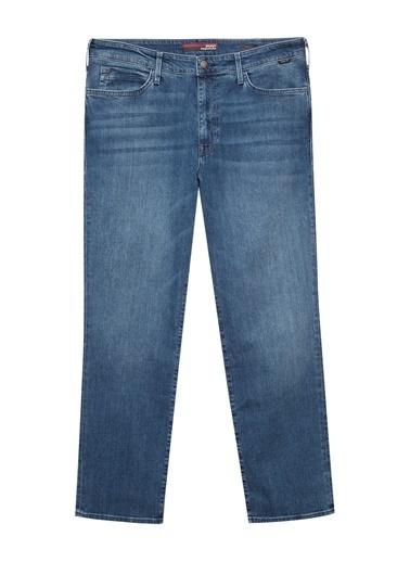 Mavi Hasan Mavi Premium Gölgeli Vintage Jean Pantolon Mavi